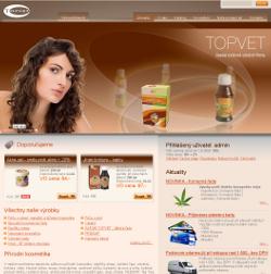 Přírodní kosmetika TOPVET