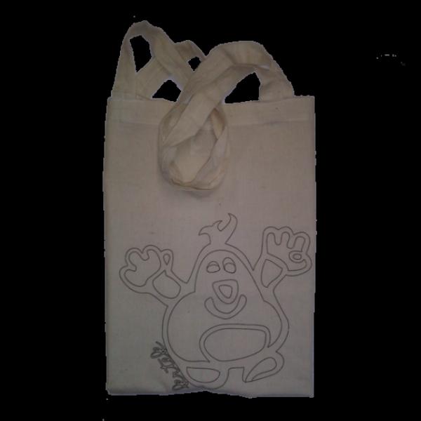 TOPVET Krtek - Taška s logem NF (lze vybarvit)
