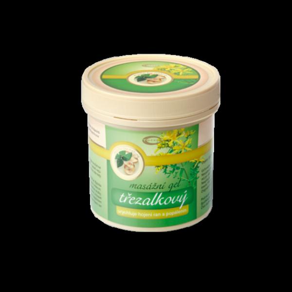 Třezalkový masážní gel