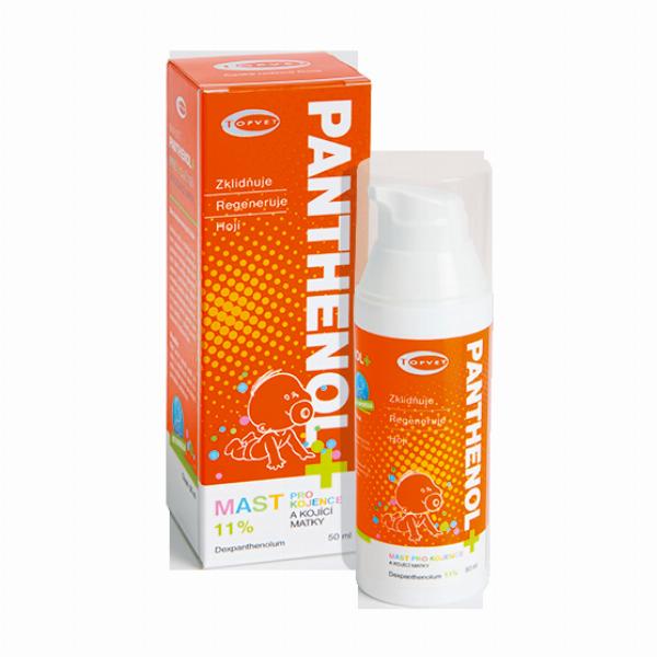 TOPVET PANTHENOL+ MAST PRO KOJENCE 11% 50ml