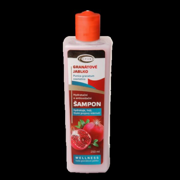 TOPVET Wellness šampon granátové jablko 250ml