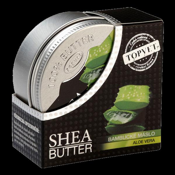 Bambucké máslo (shea butter) s aloe vera