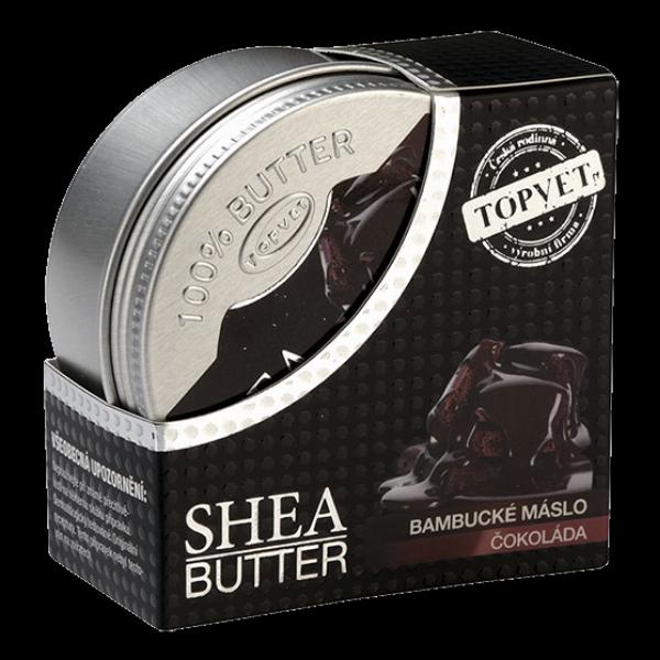 Bambucké máslo (shea butter) s čokoládou