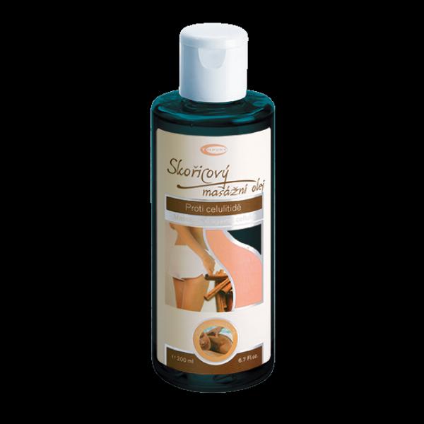 Skořicový masážní olej