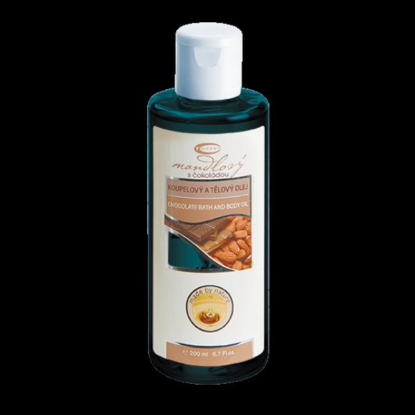 Mandlový sčokoládou - masážní olej