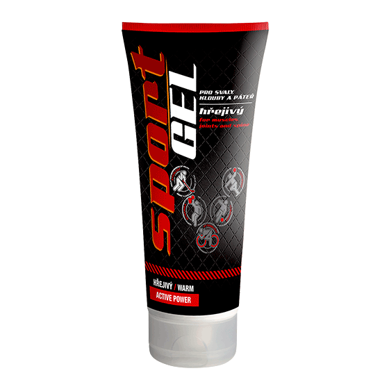 TOPVET Sport gel hřejivý (warm) 100ml