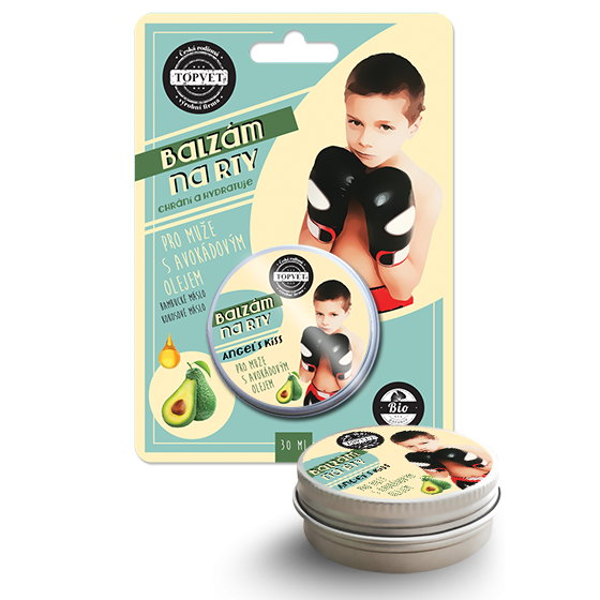 TOPVET Balzám na rty - Pro muže s avokádovým olejem 30ml