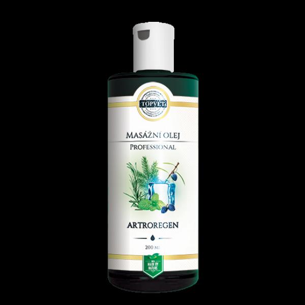 TOPVET Artroregen masážní olej 200ml