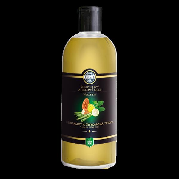 Bergamot a citronová tráva v mandlovém oleji