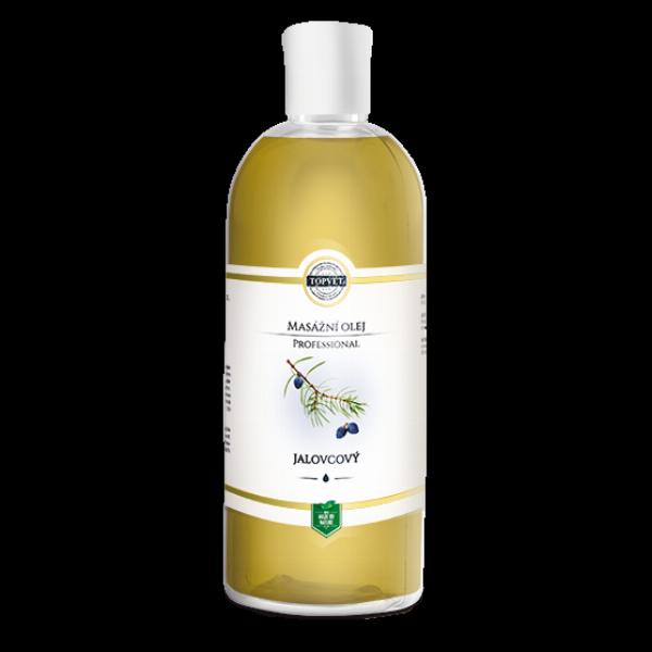 TOPVET Jalovcový masážní olej 500ml