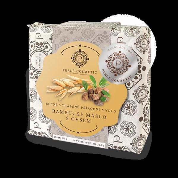 Bambucké máslo s ovsem - mýdlo