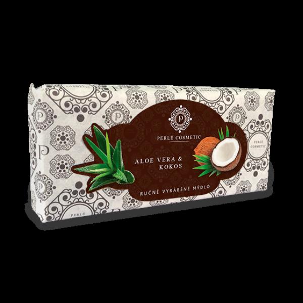 Aloe vera a kokos - mýdlo