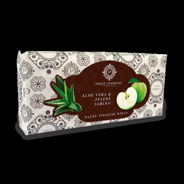 Aloe vera a zelené jablko - mýdlo