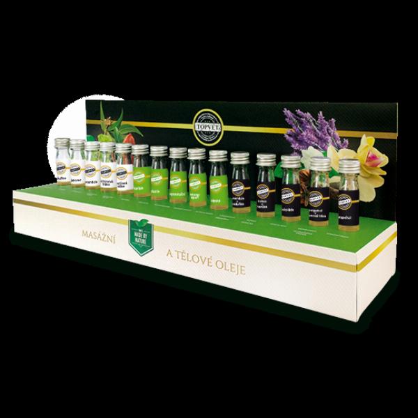 Testovací sada masážních olejů