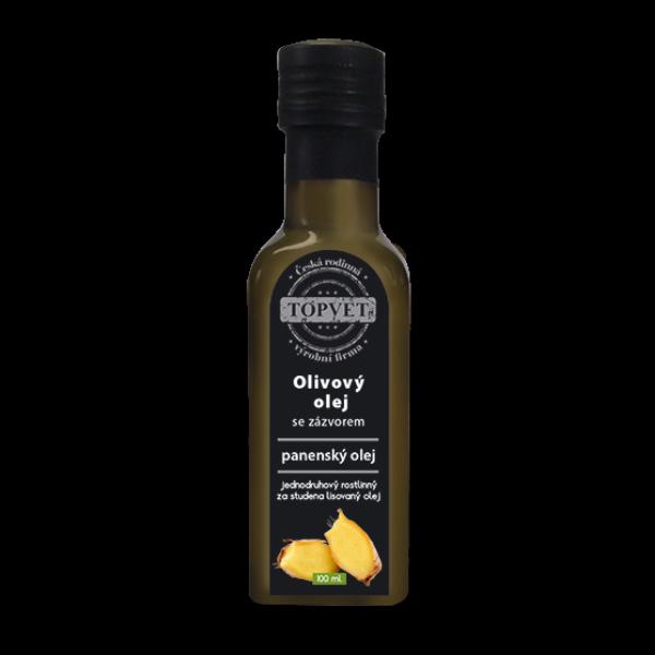 Olivovy olej se zázvorem