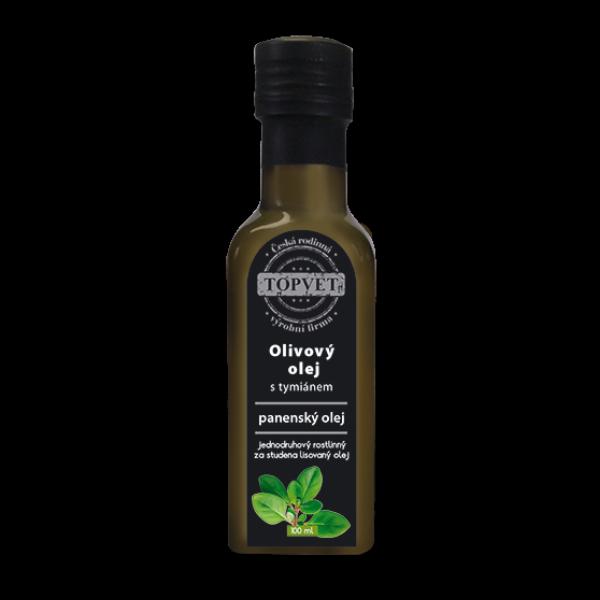Olivovy olej s tymiánem