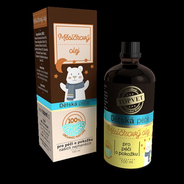 Dětská péče - Měsíčkový olej