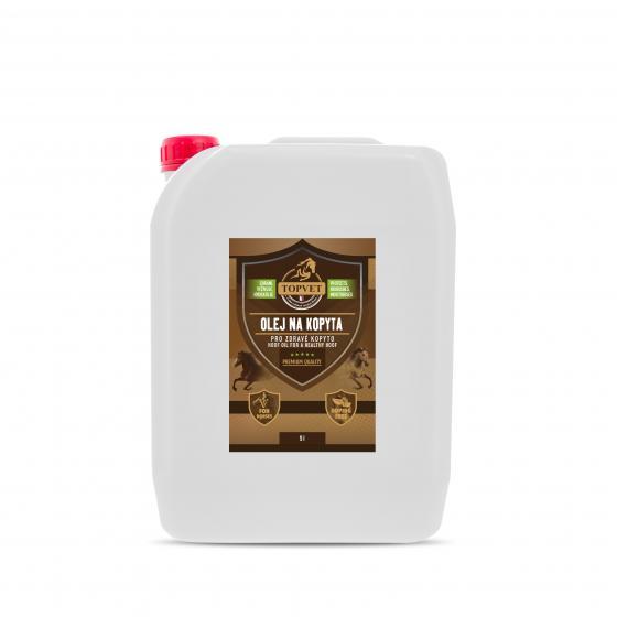 Olej na kopyta - pro zdravé kopyto 5 l