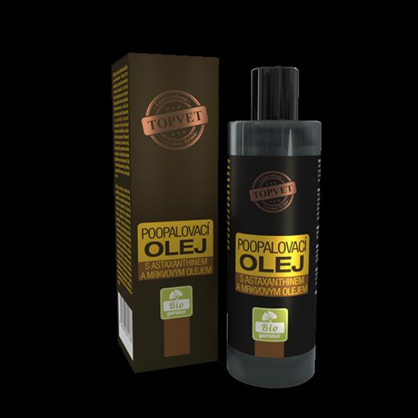Olej po opalování s astax. a mrkvovým olejem