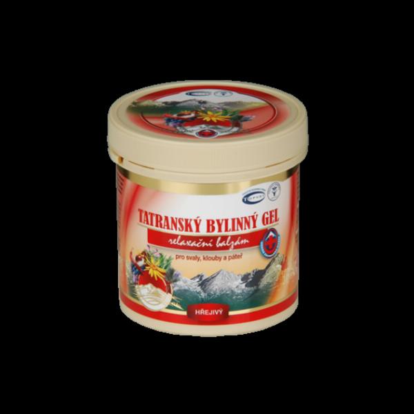 OUTLET Tatranský bylinný gel - hřejivý