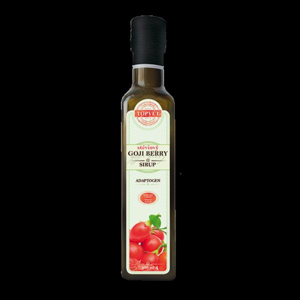 Goji berry stéviový sirup - farmářský