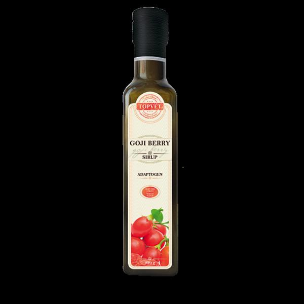 Goji berry sirup - farmářský