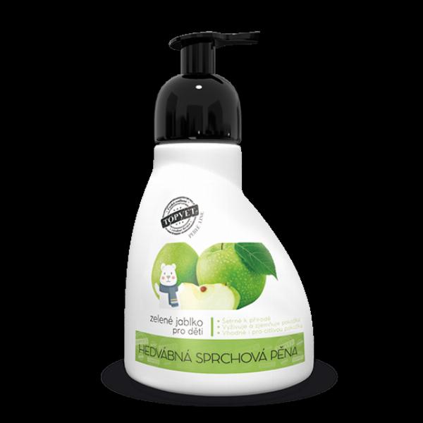 Sprchová pěna - zelené jablko - vhodné pro děti