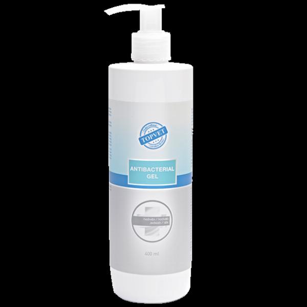 TOPVET Antibakteriální gel na ruce 400ml - Hedvábí