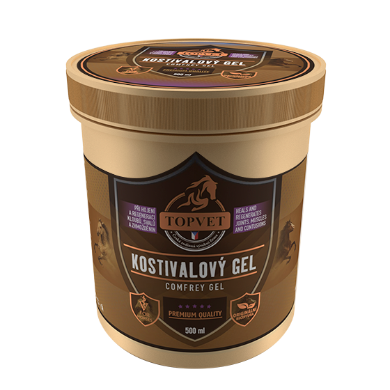 TOPVET Kostivalový gel 500ml