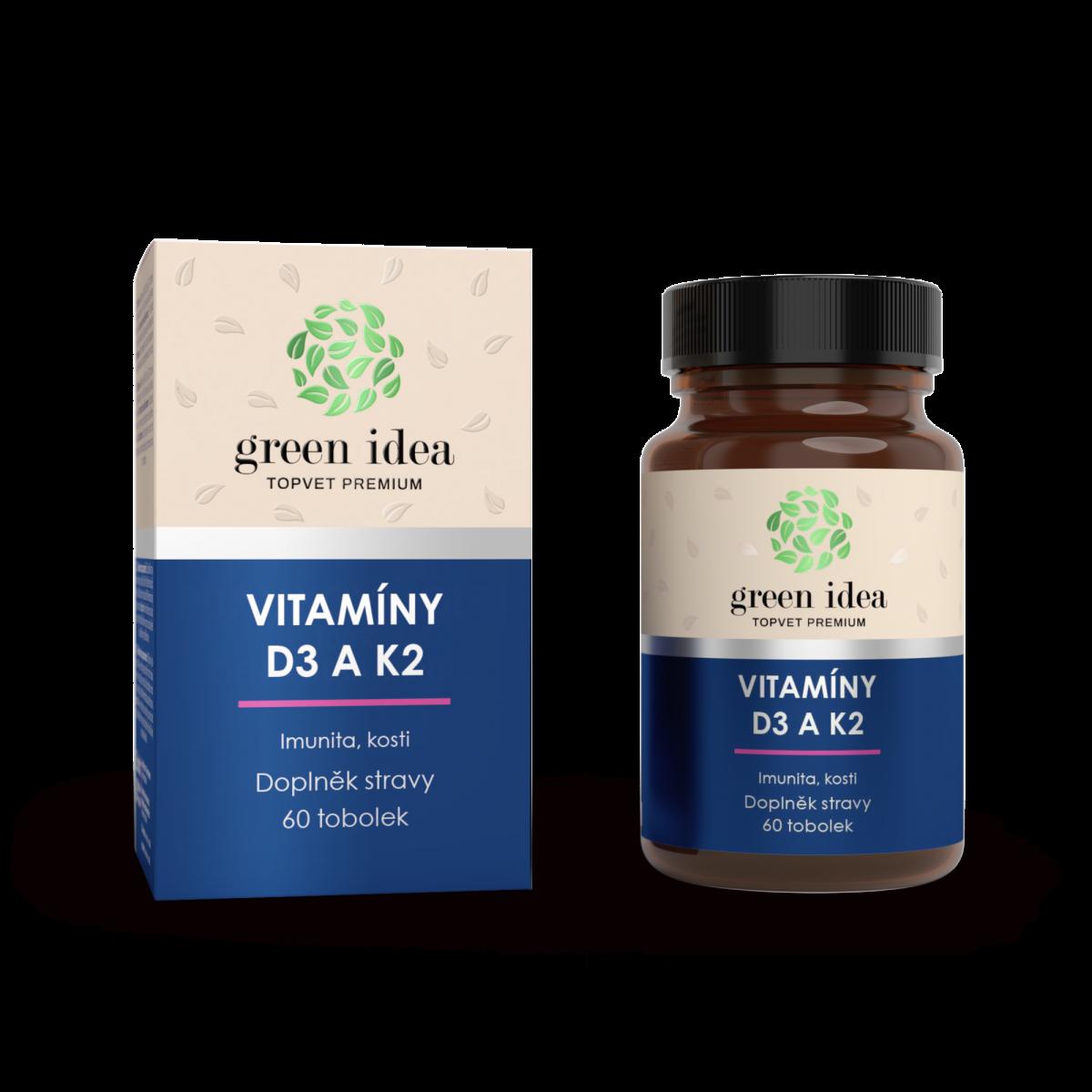 VITAMÍNY D3 a K2