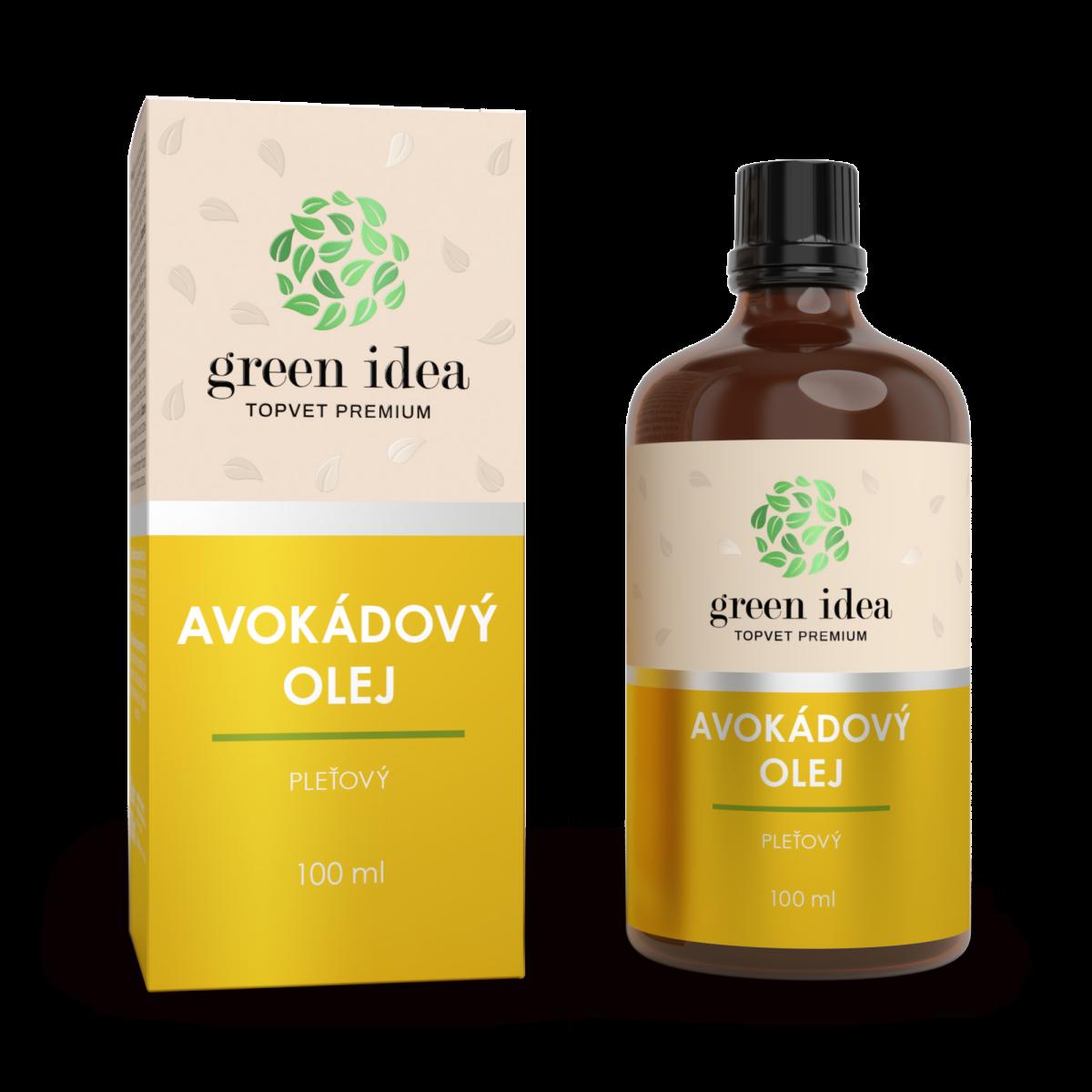 Avokádový pleťový olej