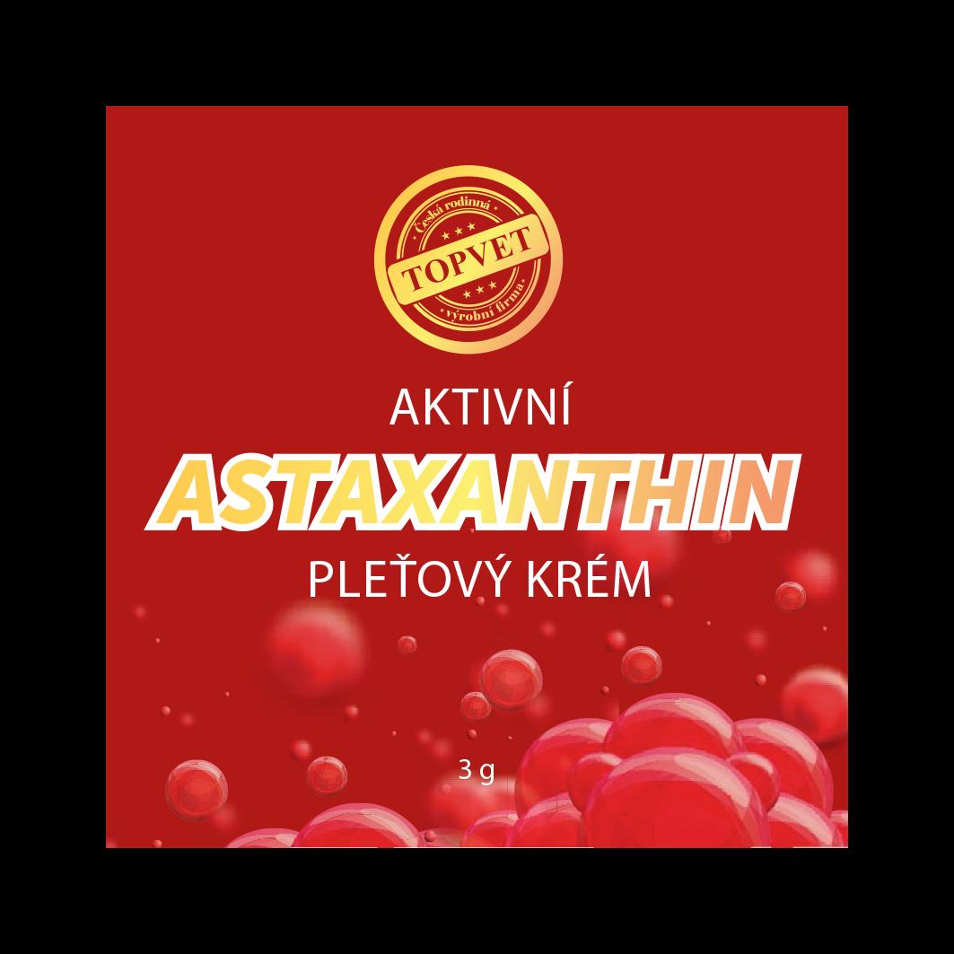 Astaxanthin - Aktivní pleťový krém TESTER