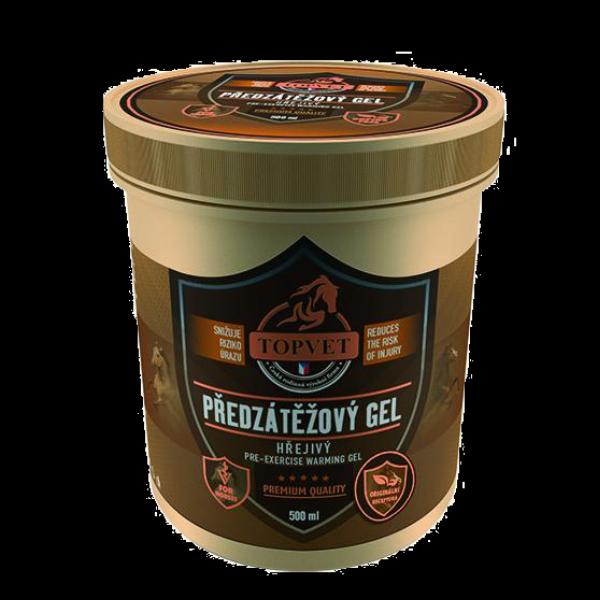 Předzátěžový gel - hřejivý