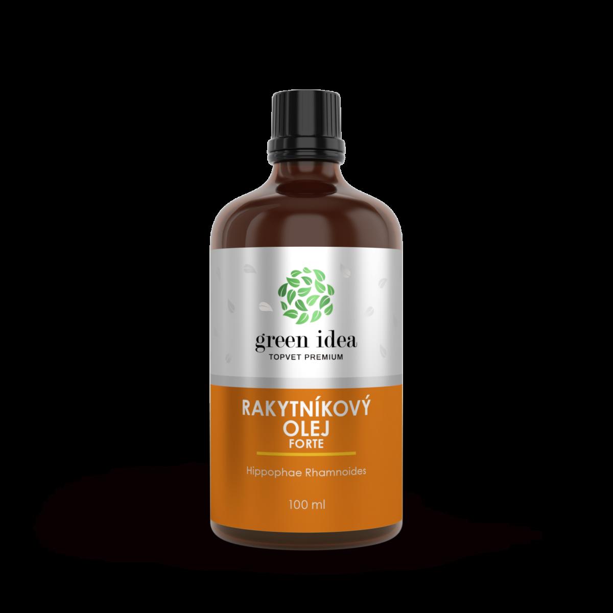 Rakytníkový bylinný olej forte