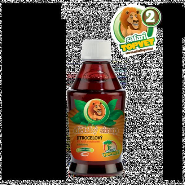 Jitrocelový dětský sirup s fruktozou