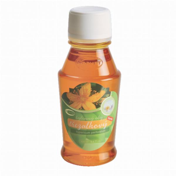 Třezalkový bylinný olej (Janův olej) Forte