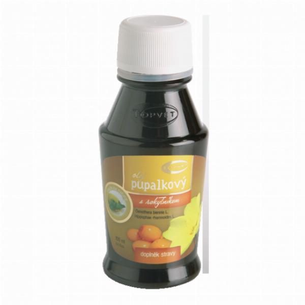 Pupalkový olej s Rakytníkem