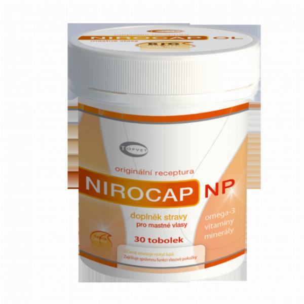 TOPVET NIROCAP NP - mastné vlasy