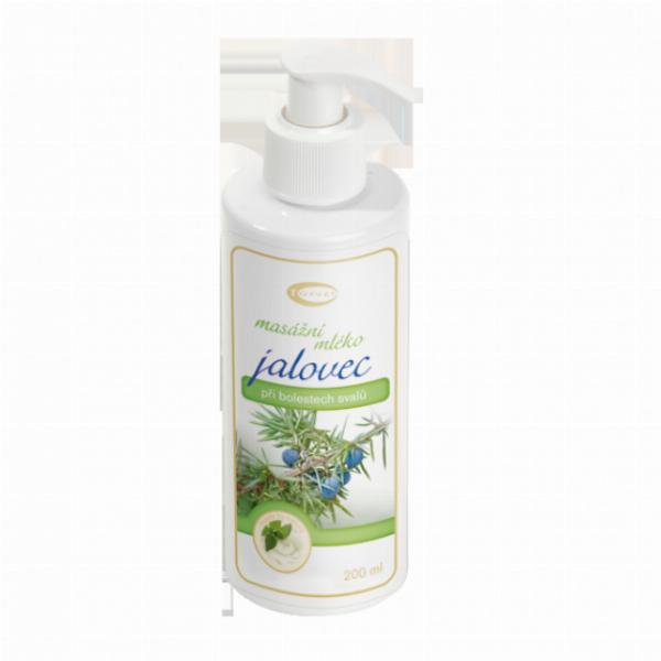 Jalovcové masážní mléko