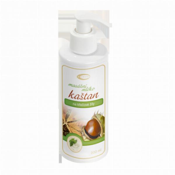 TOPVET Kaštanové masážní mléko 200ml