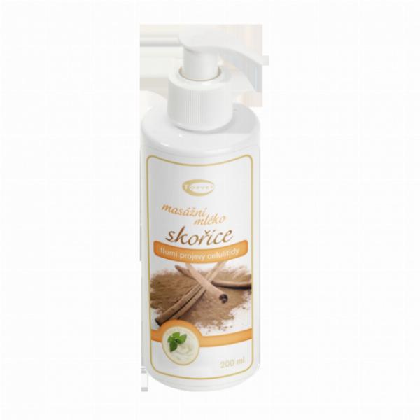 Skořicové masážní mléko