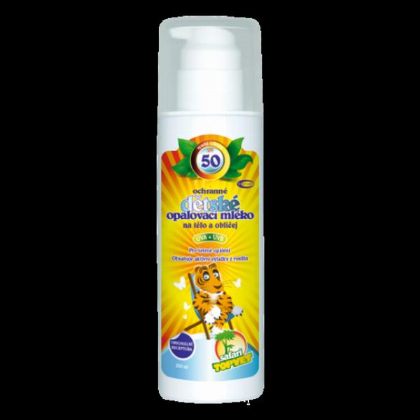 Dětské opalovací mléko SPF 50