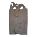 Krtek - Taška s logem NF (lze vybarvit)
