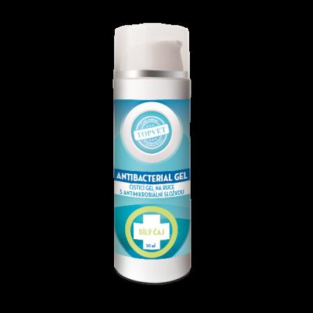 Antibakteriální gel na ruce - Bilý čaj