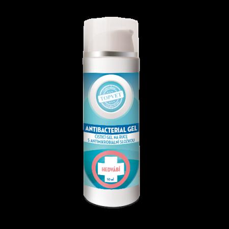Antibakteriální gel na ruce - Hedvábí