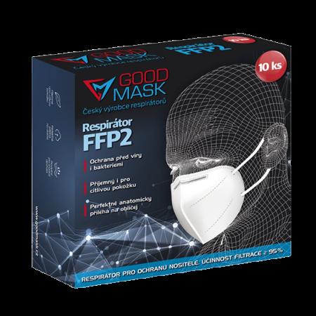 Respirátor FFP2 bílý