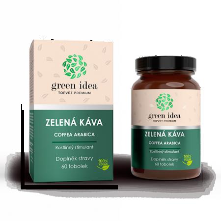 Zelená káva bylinný extrakt