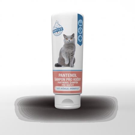 Pantenol šampon pro kočky