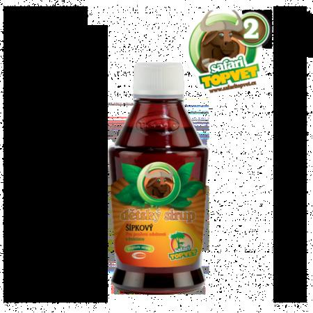 Šípkový dětský sirup s fruktozou