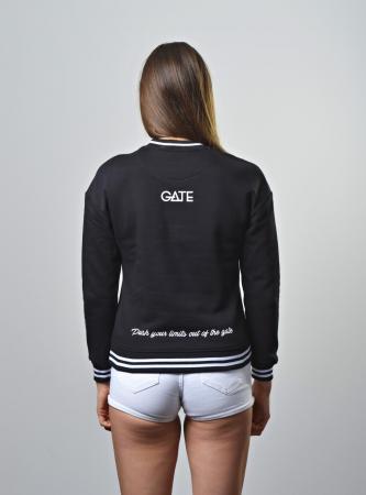 YOUR GATE - Dámská mikina černá S